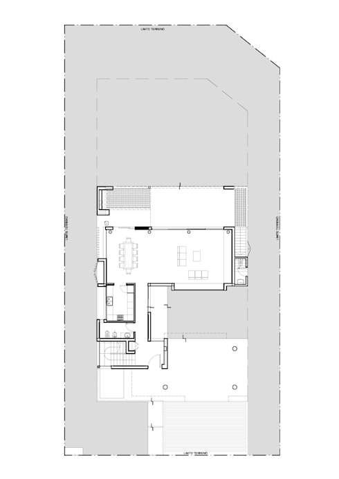 Casa RA:  de estilo  por Pablo Anzilutti | Arquitecto
