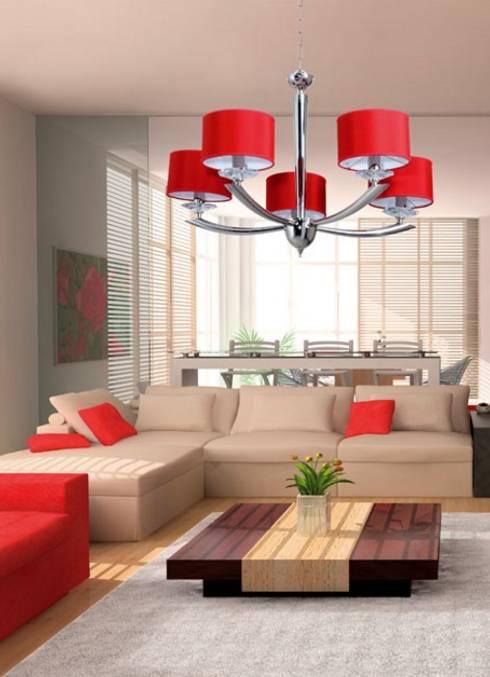 غرفة المعيشة تنفيذ Angelo Luz + Diseño