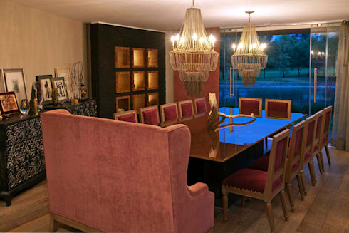 Casa LC: Comedores de estilo moderno por ARCO Arquitectura Contemporánea