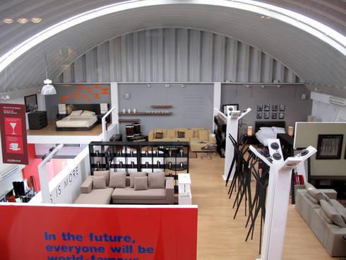 Mobica Prado Norte : Oficinas y tiendas de estilo  por ARCO Arquitectura Contemporánea