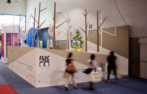Pabellon Tendencias Elemento Tierra : Casas de estilo moderno por ARCO Arquitectura Contemporánea