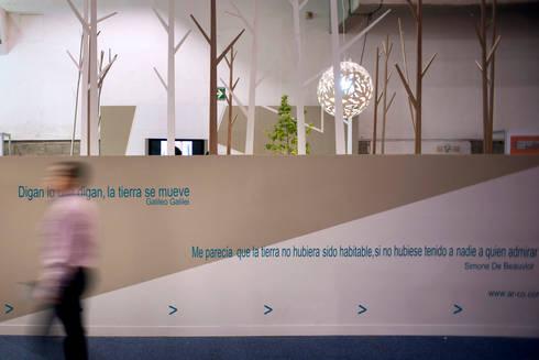 Pabellon Tendencias Elemento Tierra : Terrazas de estilo  por ARCO Arquitectura Contemporánea
