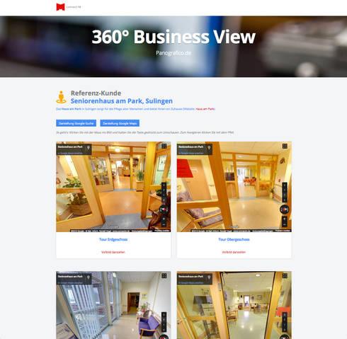 360 panorama touren so als w ren ihre kunden bereits vor ort por 360 business touren. Black Bedroom Furniture Sets. Home Design Ideas