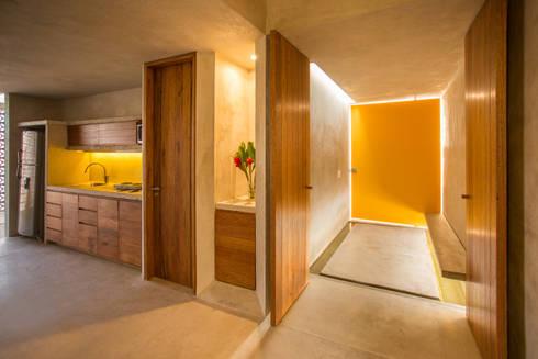 CASA GABRIELA: Cocinas de estilo moderno por TACO Taller de Arquitectura Contextual