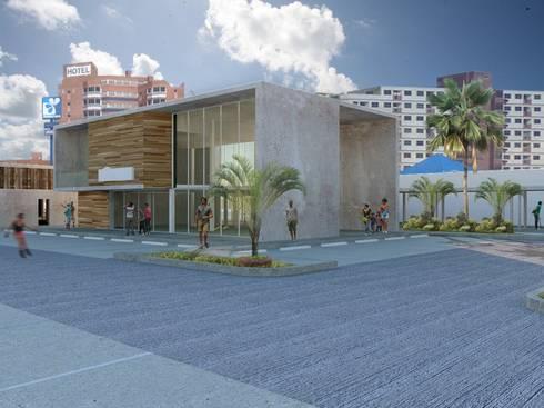 Visualización 3d para Oda:  de estilo  por Metamorphosis Propuesta de Arquitectura