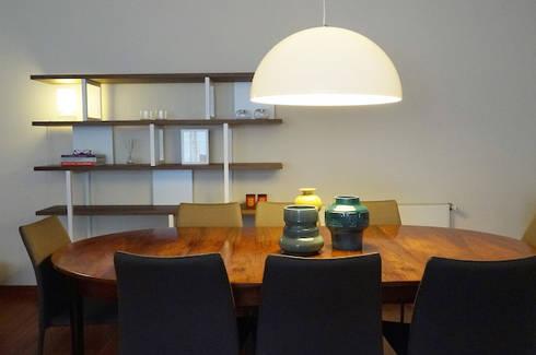 Apartamento Matosinhos Sul: Salas de jantar modernas por Kohde