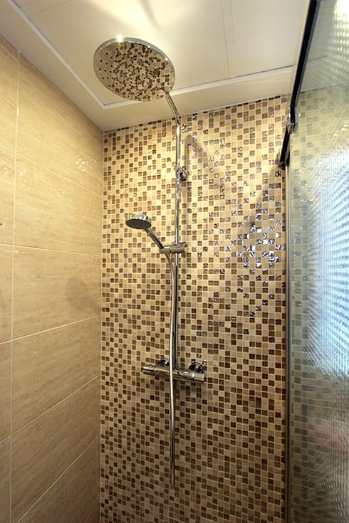 Baños de estilo escandinavo por Novodeco