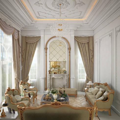 Hadım Köy Pelican Hill Evleri - Salon von Ozan Sular Creative Design ...