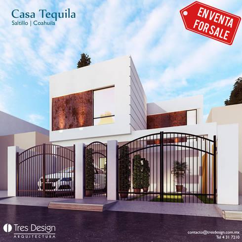 Casa Tequila: Casas de estilo minimalista por Laboratorio Mexicano de Arquitectura