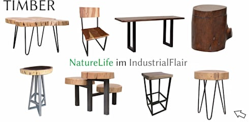naturelife im industrialflair de miam bel gmbh homify. Black Bedroom Furniture Sets. Home Design Ideas
