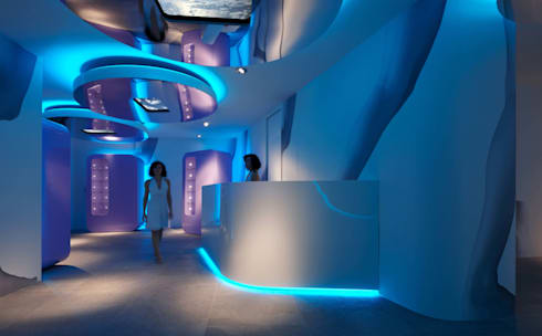 LE TERRAZZE SPA & WELLNESS di GLIP | The Lighting Partner | homify