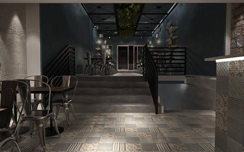 Sala 3: Espaços de restauração  por Tiago Martins - 3D