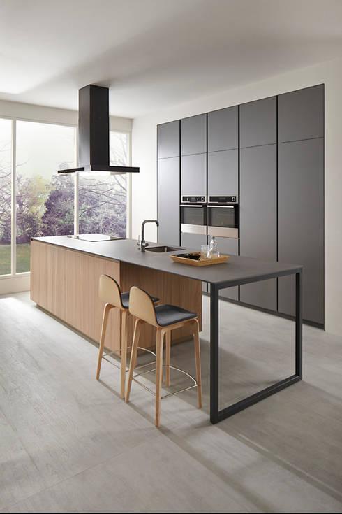 Projekty,  Kuchnia zaprojektowane przez VIVESPACIO