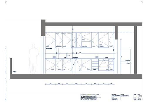 Remodelação de cozinha:   por Architect Your Home