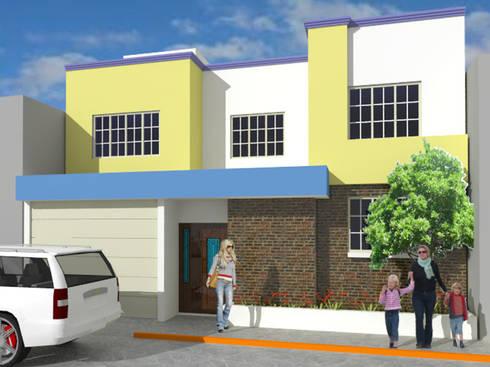 Vivienda Ortiz: Casas de estilo moderno por Taller Esencia