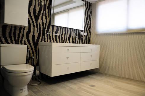 PH 63C: Baños de estilo moderno por TRIBU ESTUDIO CREATIVO