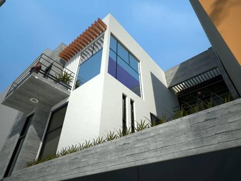 Vivienda O-157:  de estilo  por Taller Esencia
