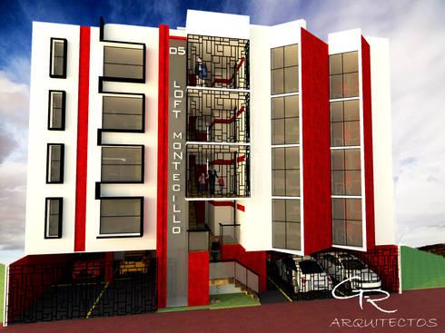 Loft Montecillo 05 : Casas de estilo minimalista por GT-R Arquitectos