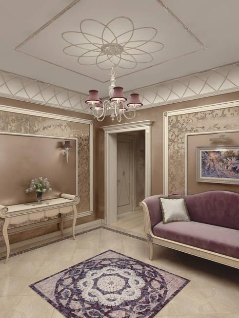 Квартира на Можайском шоссе: Коридор и прихожая в . Автор – ELLE DESIGN STUDIO