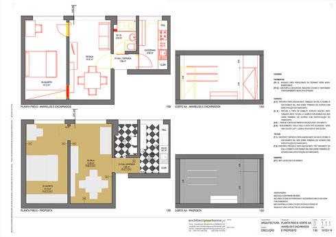 Remodelação de apartamento:   por Architect Your Home