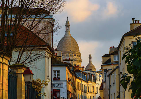 Paris, Paris- Francia-: Arte de estilo  por FotoKunst Gallery