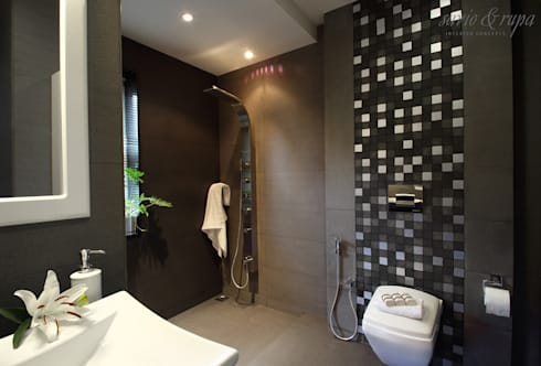 Bathroom: modern Bathroom by Savio and Rupa Interior Concepts