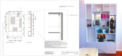 Uma decoração depurada:   por Architect Your Home