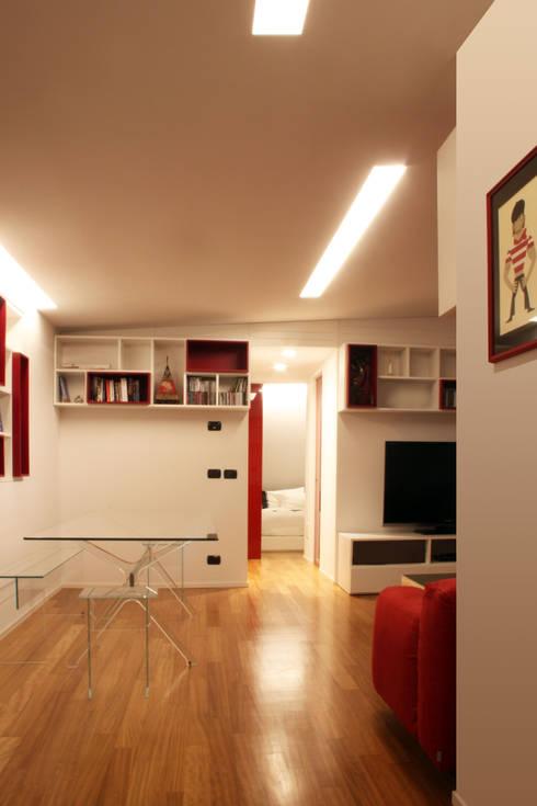 Superb Living: Soggiorno In Stile In Stile Minimalista Di T+T ARCHITETTURA