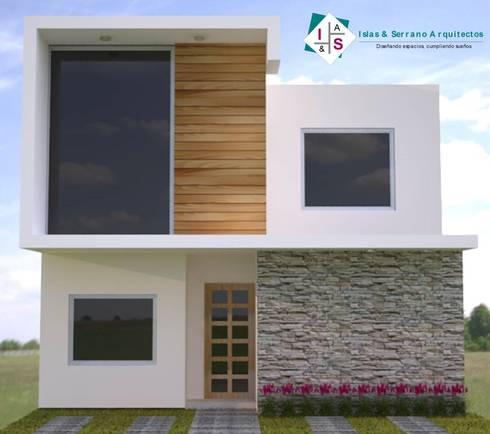Casa muestra: Casas de estilo minimalista por ISLAS & SERRANO ARQUITECTOS