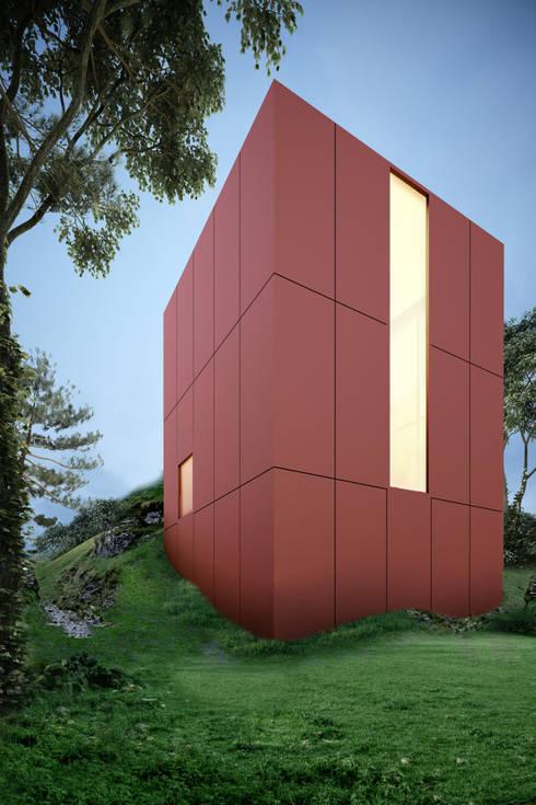 Red House: Casas de estilo moderno por mousa / Inspiración Arquitectónica