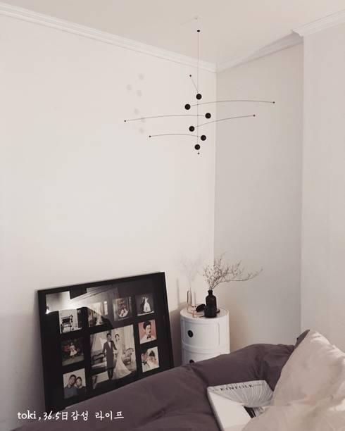 scandinavian Bedroom by toki