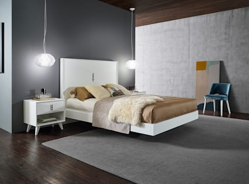 Mobiliário de Quarto Bedroom Furniture www.intense-mobiliario.com  Etrana 02 http://intense-mobiliario.com/product.php?id_product=10601: Quarto  por Intense mobiliário e interiores;