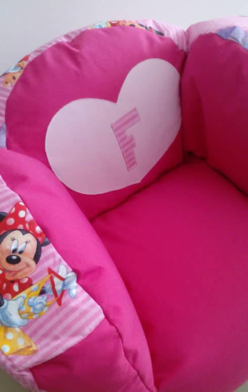 Puff personalizado: Quarto de crianças  por Textilpuff