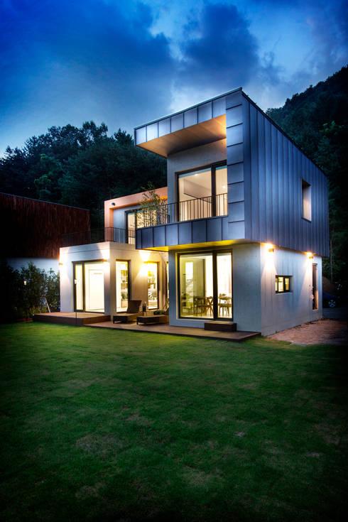 Projekty,  Domy zaprojektowane przez 한글주택(주)
