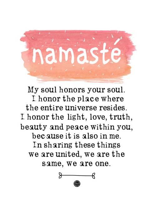 Poster *Namasté: Arte  por Oi! Xica