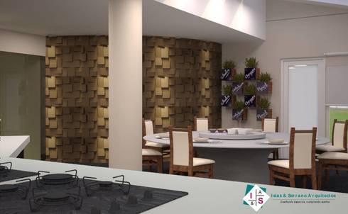 Propuesta 2: Cocinas de estilo moderno por ISLAS & SERRANO ARQUITECTOS