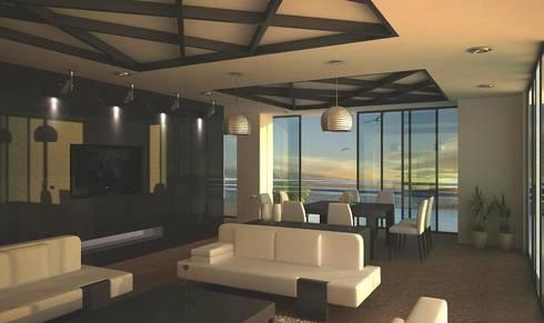 SALA DE ESTAR: Salas de estilo moderno por Ar.Co