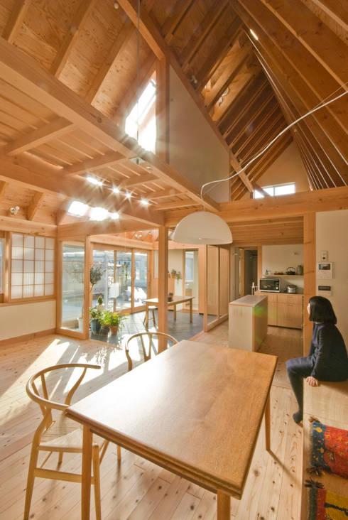 千田建築設計의  다이닝 룸