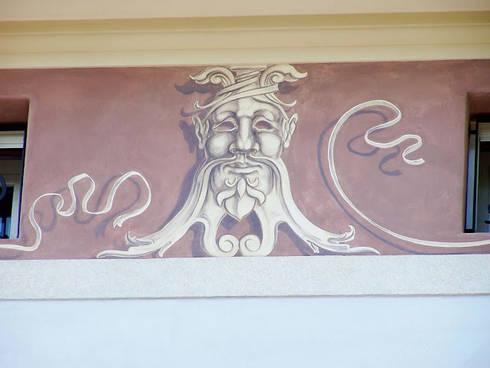 Fregio a grottesche di sulla soglia decorazioni - Decorazioni grottesche ...