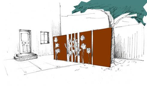 jardin graphique par anthemis bureau d 39 etude paysage homify. Black Bedroom Furniture Sets. Home Design Ideas
