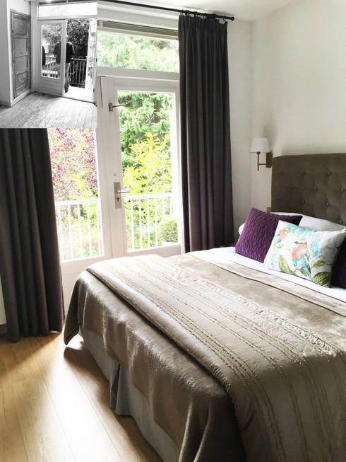 Apartment  in Amsterdam:  Slaapkamer door CVA Design