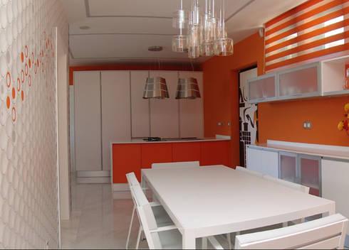Cozinha: Cozinhas modernas por Belgas Constrói Lda