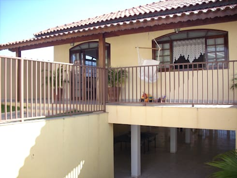 Casa de Hóspedes - Reforma: Casas modernas por MBDesign Arquitetura & Interiores