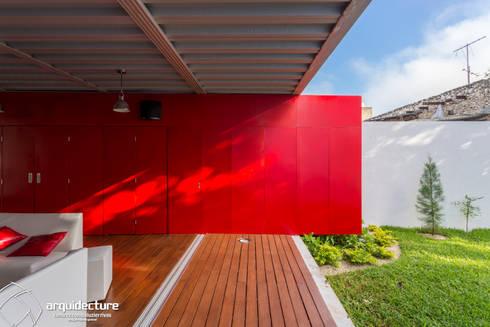 ESTUDIO 2XR: Terrazas de estilo  por Grupo Arquidecture