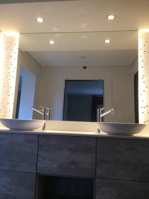 Baño principal: Baños de estilo  por Arquitecta Fernanda Isola