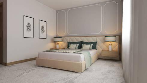 Hotel Algerie: Quartos minimalistas por Mdimension