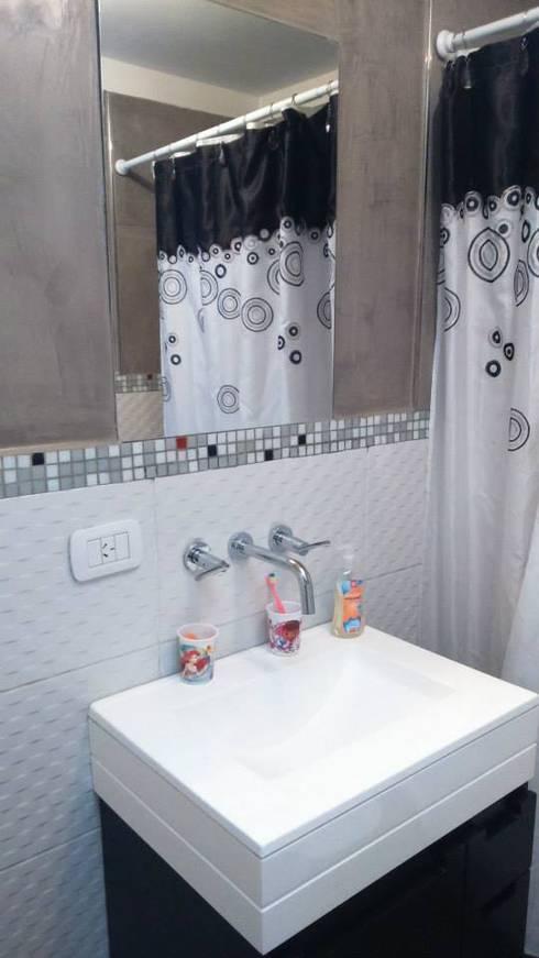 Baños de estilo  por DS Arquitectos