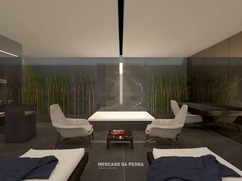 3D Visualization of the project:   por Mercado da Pedra
