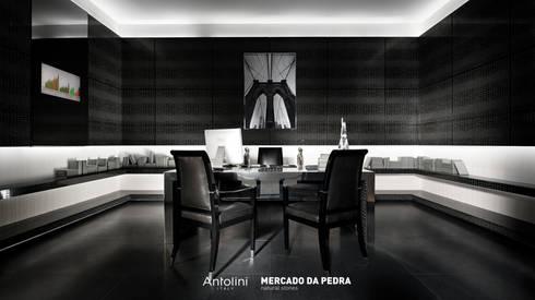 Commercial project / Antolini / Mercado Da Pedra: Locais de eventos  por Mercado da Pedra