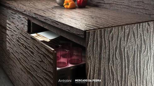Photography of the kitchen design: Locais de eventos  por Mercado da Pedra